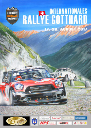 2017 RALLYE Gotthard Switzerland