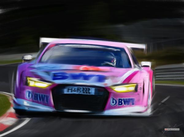 2018 Nürburgring VLN - Nico Müller --- Audi R8 LMS