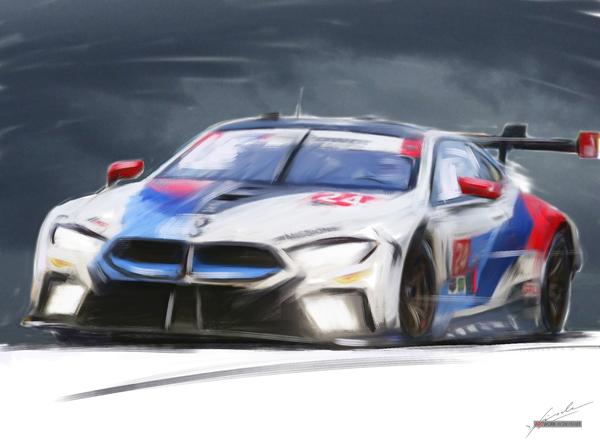2018 Sebring USA 12h - John Edwards - Jessie Krohn - Nick Catsburg --- BMW M8 GTLM