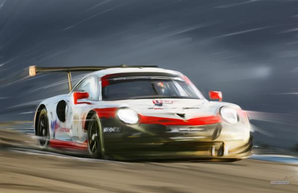 2018 Sebring USA 12h - Laurens Vanthoor - Earl Bamber - Gianmaria Bruni --- Porsche 911 RSR