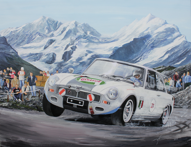 2018 Bernina Gran Turismo - Mike Waelty MGB Crowe