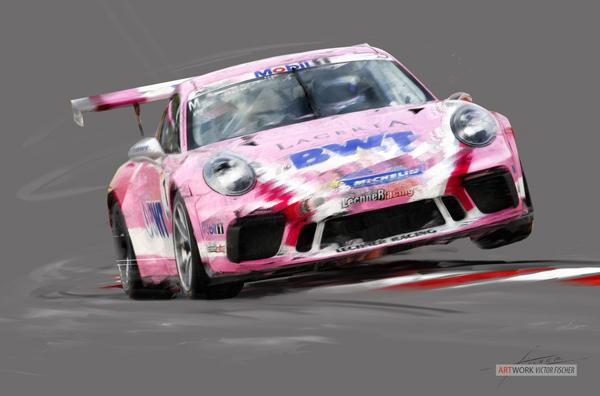 2018 Budapest Porsche Cup - Michael Ammermueller