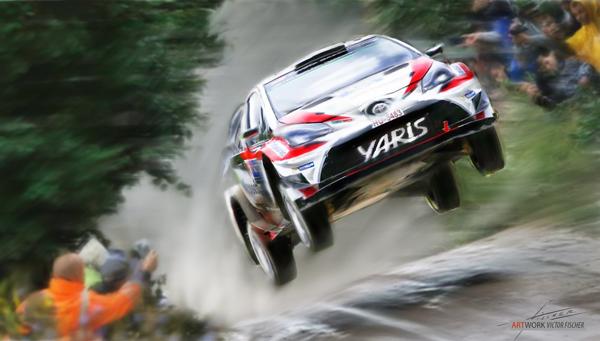 2018 Finnland Rallye - Ott Tänak  Toyota Yaris