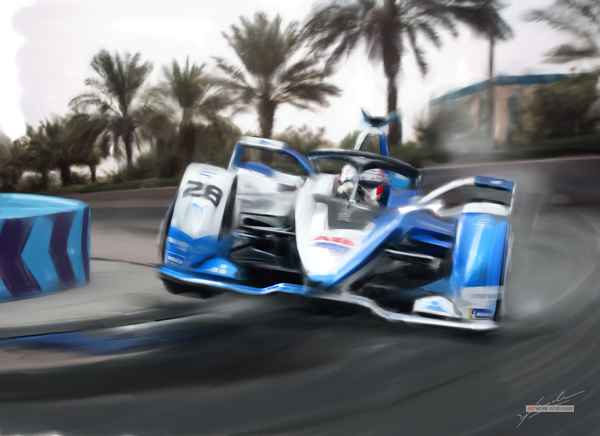 2018 Riad Formula E - Antonio Felix da Costa    BMW