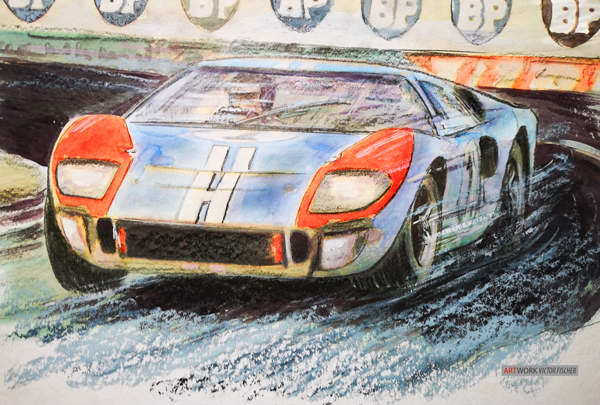 1966 Le Mans - Ken Miles/Denny Hulme  Ford GT 40
