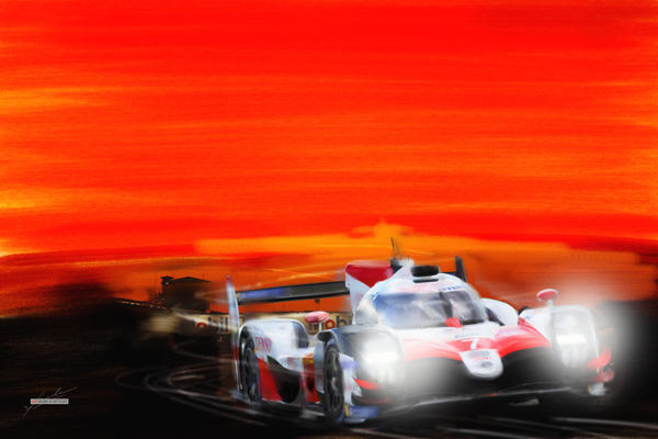 2019 Sebring - Sébastien Buemi/Kazuki Nakajima/Fernando Alonso   Toyota LMP 1